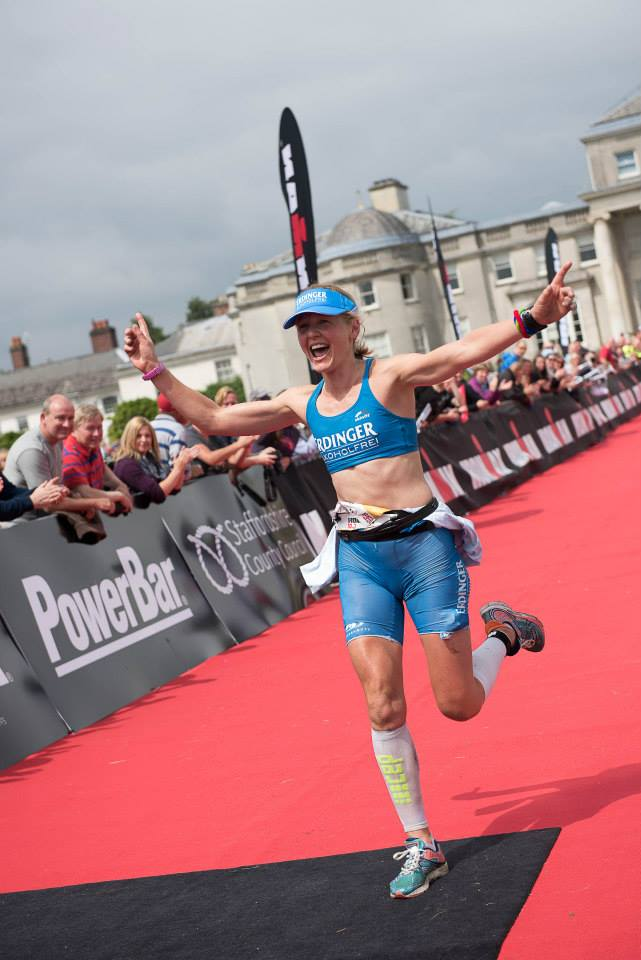 lucy gossage triathlon win, lucy gossage ironman 70.3 staffordshire