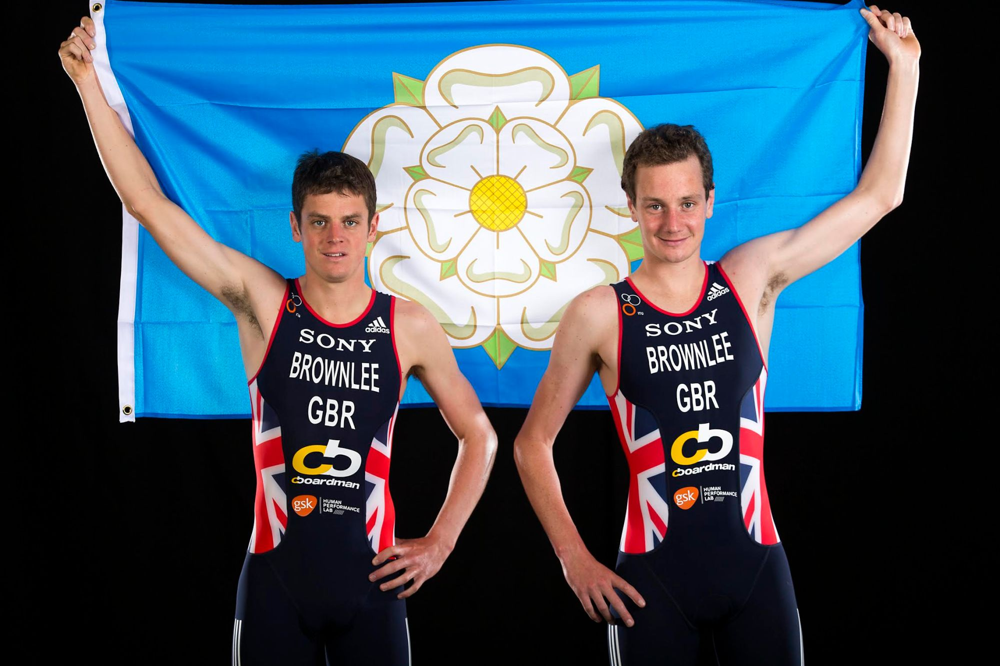 Great Britain's Alastair (right) and Jonathan Brownlee