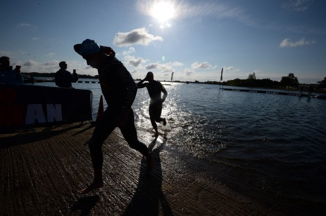 Ironman 70.3: Staffordshire swim
