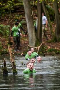 commando series lake crawl, commando series mud run 2015, hever castle obstacle race