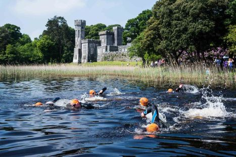 lough cutra castle triathlon swim