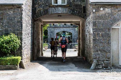 lough cutra castle triathlon review run
