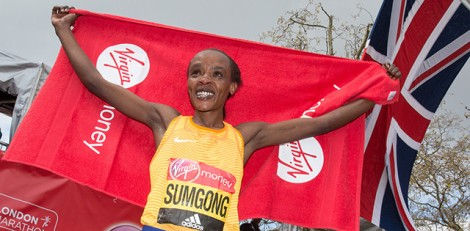 picture from london marathon
