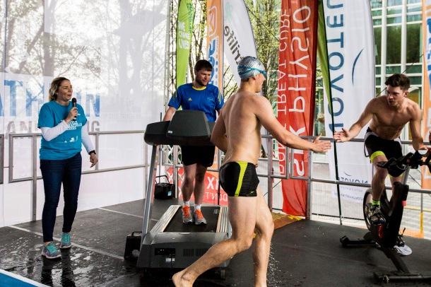 Let's Do This triathlon team, lets do this pop up city triathlon, pop up triathlon