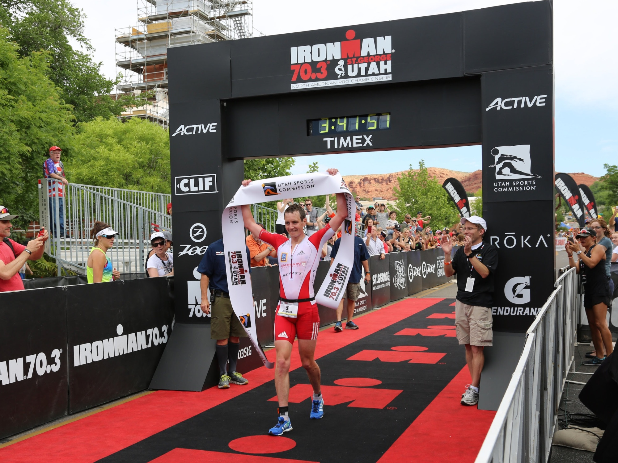 Bahrain Endurance 13, Brownlee triathlon ironman