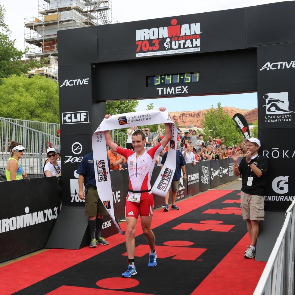 Bahrain Endurance 13, Brownlee triathlon ironman